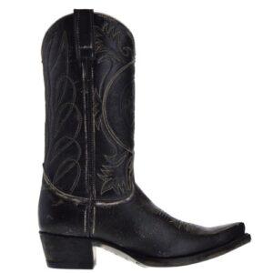 10733-gaia-dames-cowboylaarzen-zwart
