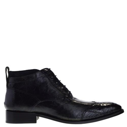 10955p-marcos-hoge-nette-herenschoenen-zwart