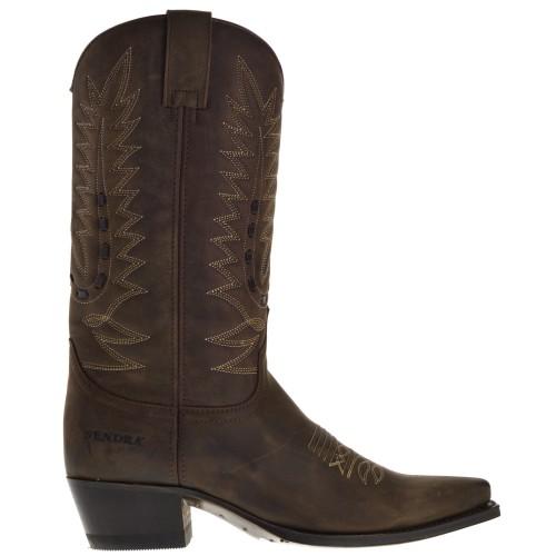 11062-gene-dames-cowboylaarzen-bruin
