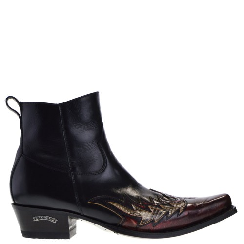 12185p-mimo-heren-western-boots-rood-python
