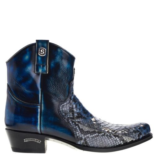 12830p-dier-ridding-heren-western-boots-blauw-python