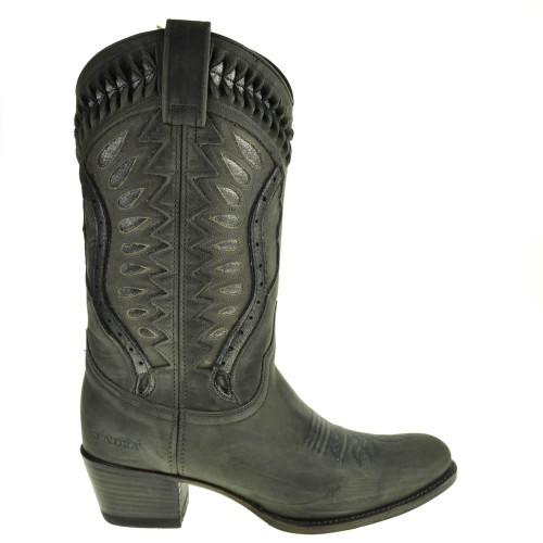 12860-debora-nl-dames-cowboylaarzen-grijs