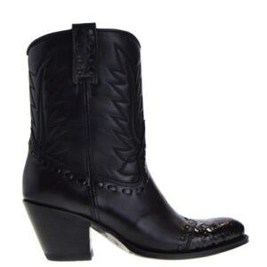 13290p-laly-dames-cowboylaarzen-zwart