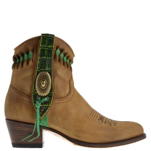 13387-debora-nl-dames-western-boots-bruin