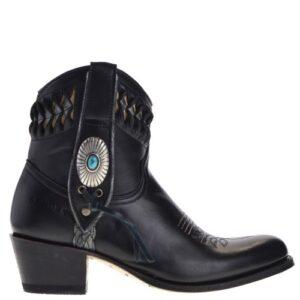 13387-debora-nl-dames-western-boots-zwart