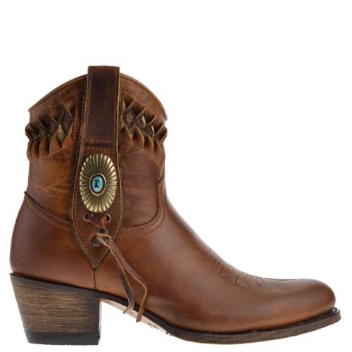 14095-debora-nl-dames-western-boots-bruin