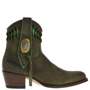 14095-debora-nl-dames-western-boots-groen