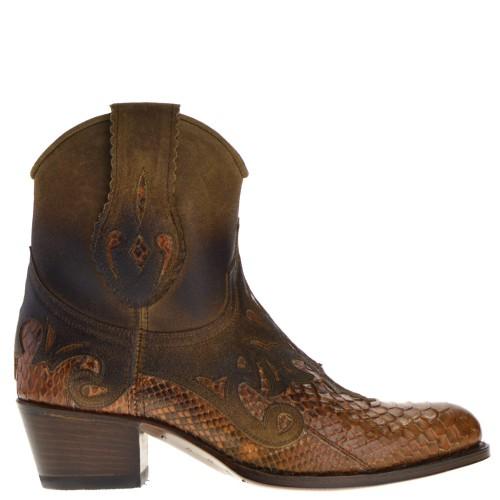 14484p-debora-nl-dames-western-boot-cognac-python
