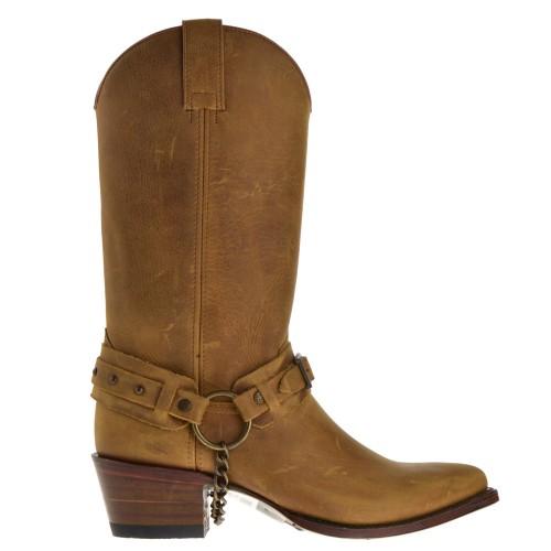 14681-lia-dames-cowboylaarzen-naturel