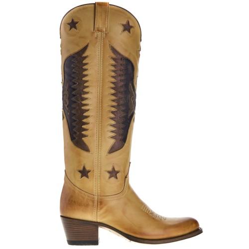 15186-debora-nl-dames-cowboylaarzen-naturel