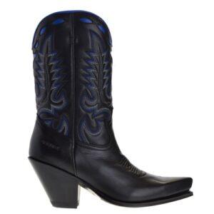 15651-gorca-dames-cowboylaarzen-zwart