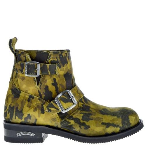 2976-carol-pete-dames-westerns-boots-leger-groen