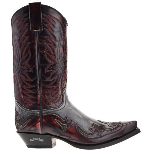 3241-cuervo-heren-cowboylaarzen-rood