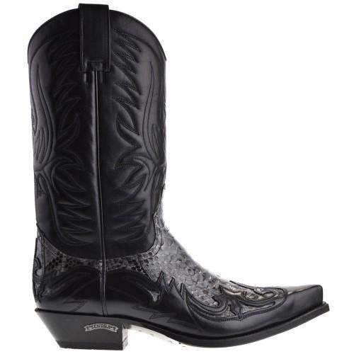 3241p-cuervo-denver-heren-cowboylaarzen-zwart-python