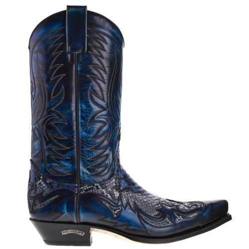 3241p-cuervo-west-heren-cowboylaarzen-blauw-python