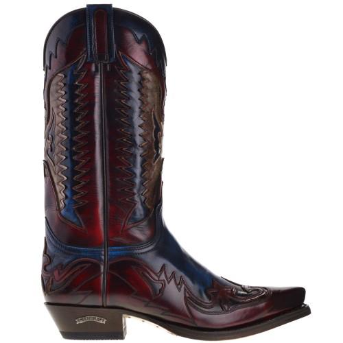 3840-cuervo-heren-cowboylaarzen-rood