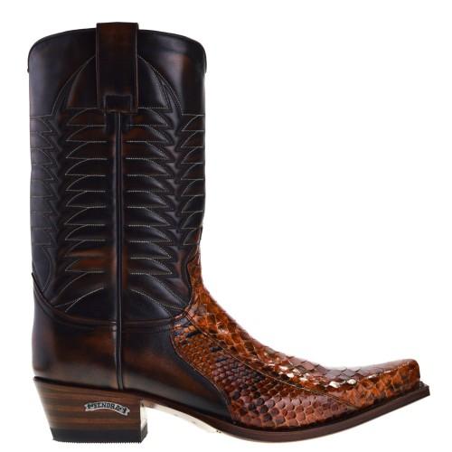 5907p-mimo-heren-cowboylaarzen-bruin-python