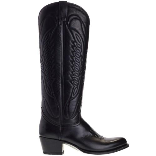 8840-debora-nl-dames-cowboylaarzen-zwart