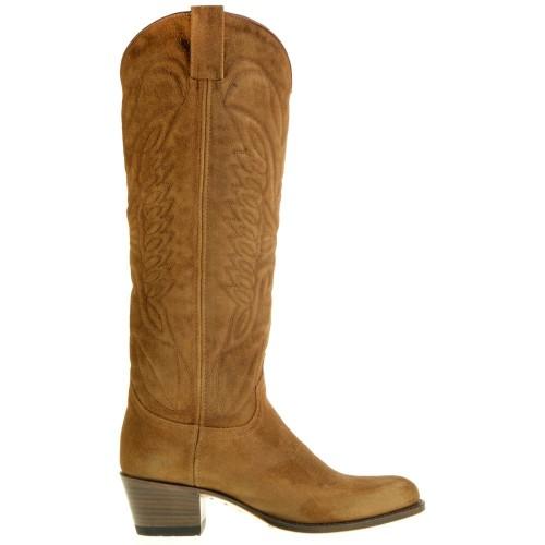 Sendra 8840 Debora Cowboylaarzen voor dames Cognac