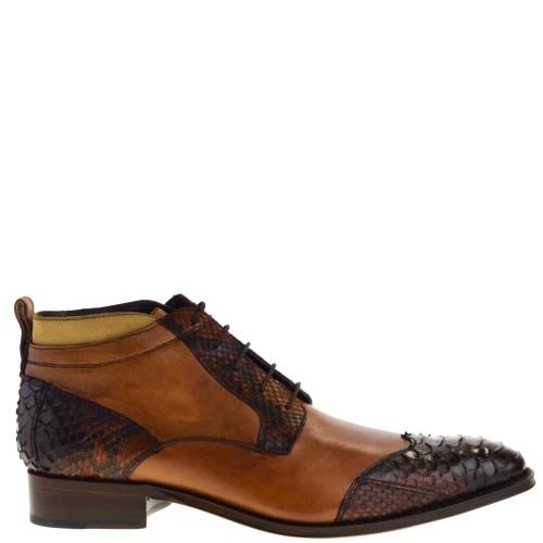 sendra-boots-10953p-marcos-heren-veterschoenen-bruin-croco