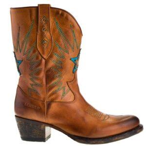 16513-debora-nl-korte-dames-cowboylaarzen-cognac