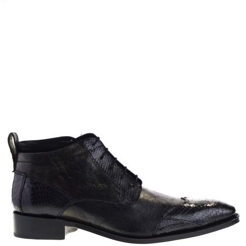 sendra-boots-10953p-marcos-heren-veterschoenen-zwart