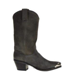 10490- Lia dames cowboylaarzen grijs