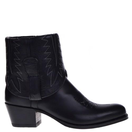 11167- Debora-NL dames western boots zwart