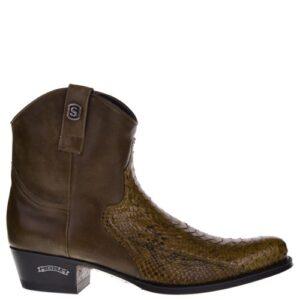 12830P Dier Ridding heren western boots bruin