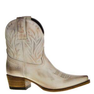 16954 Gene Berdy dames western boots beige