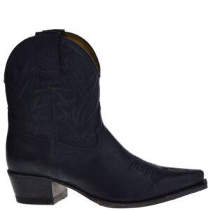 16954 Gene Berdy dames western boots zwart
