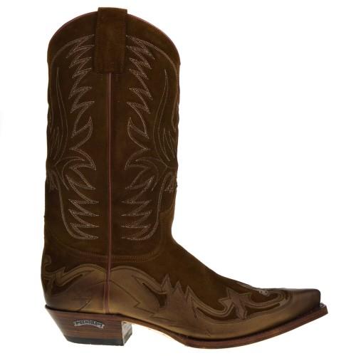 3241 CUERVO heren cowboylaarzen bruin