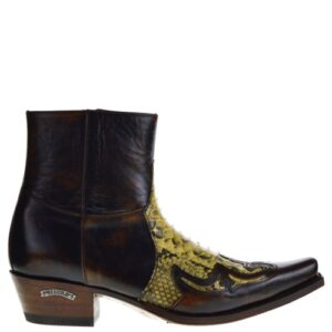 9918P Mimo Ridding heren western boots bruin