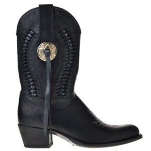 sendra-boots-10041-zwart