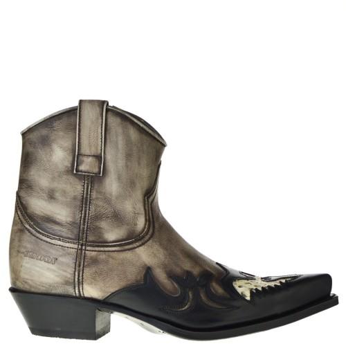 sendra-boots-16145p-grijs-zwart